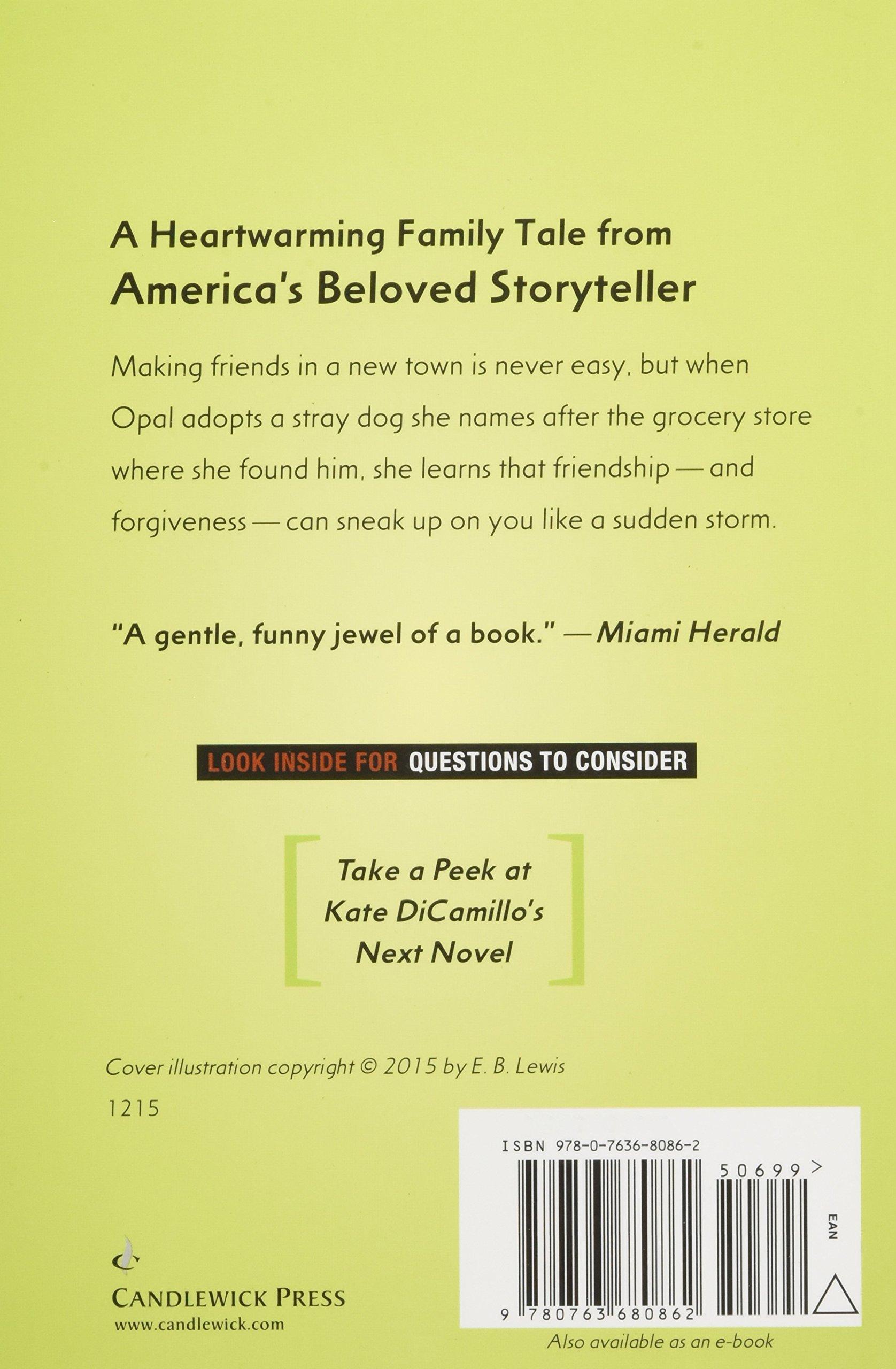 Because Of Winn Dixie Kate Dicamillo 9780763680862 Amazon Books