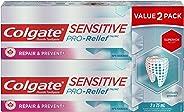 Colgate Sensitive Pro Relief Repair & Prevent Toothpaste, 2 x 75 mL