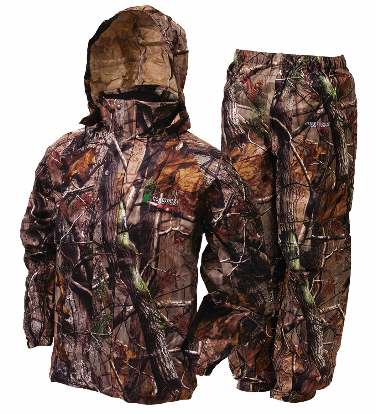 Frogg Toggs All Sport Rain Suit, RealTree All Purpose Xtra Color, Small