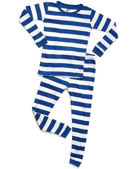 64ca78954 Amazon.com  Leveret Striped Kids   Toddler Boys Pajamas 2 Piece Pjs ...