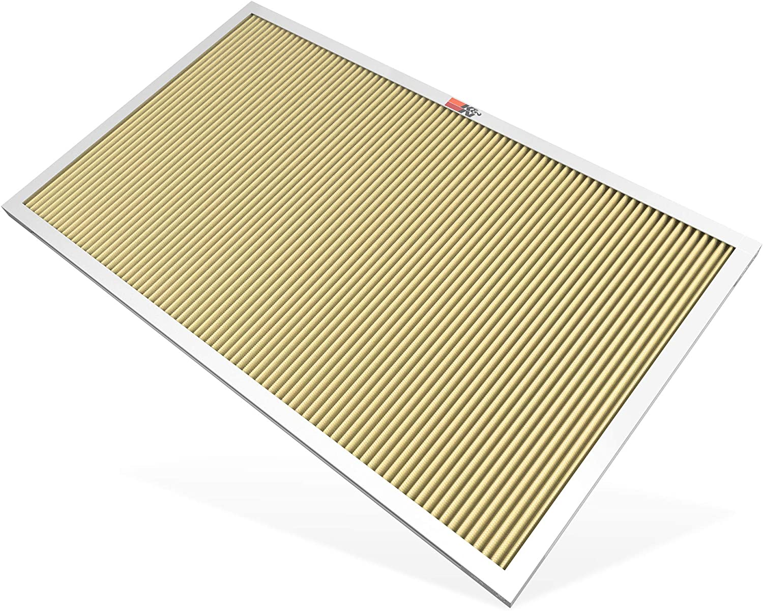 K&N 18x30x1 HVAC Air Filter; Lasts a Lifetime; Washable; Merv 11; Filters Allergies, Pollen, Smoke, Dust, Pet Dander, Mold, Smog, and More; Breathe Cleanly at Home, HVC-11830