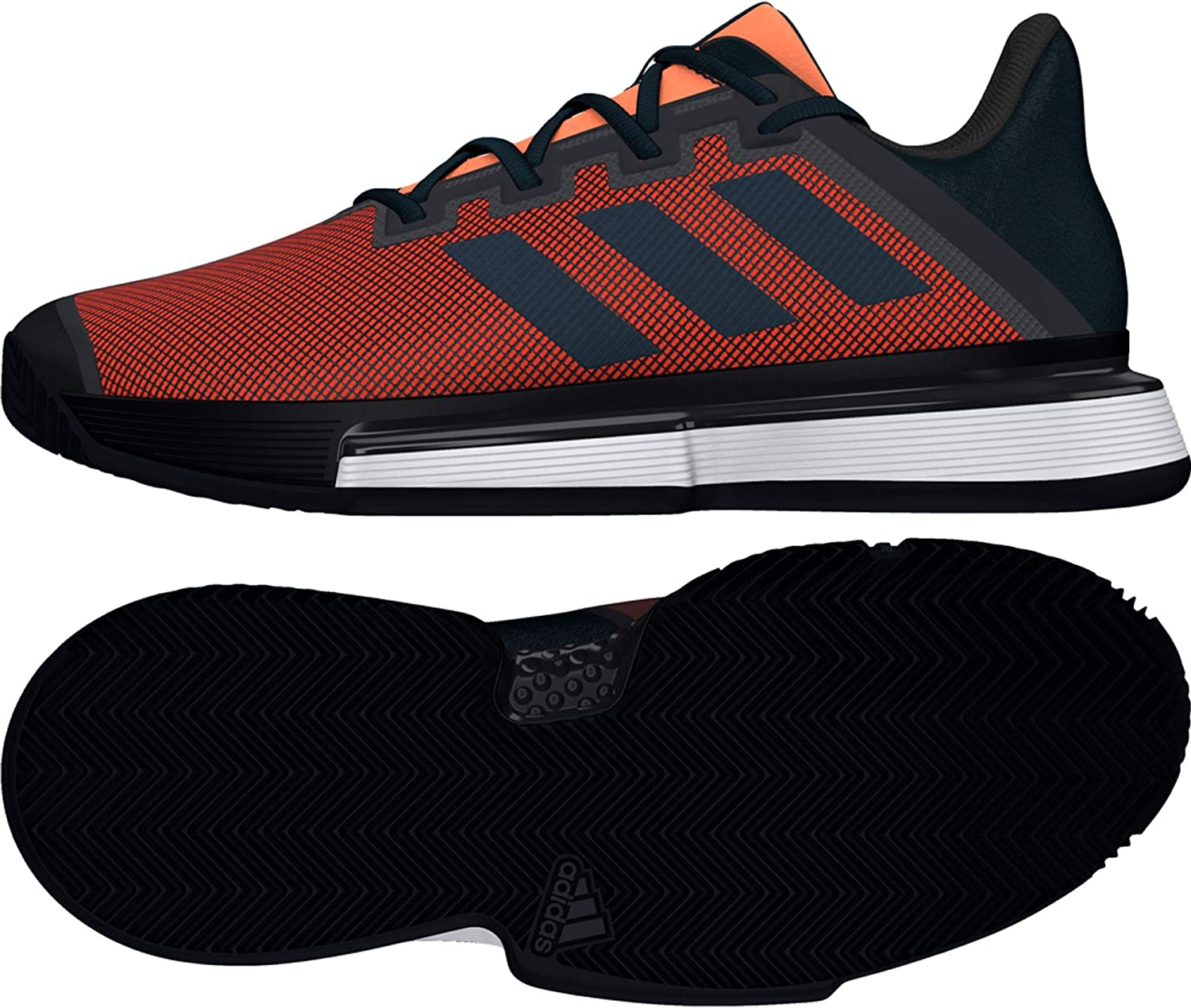 adidas Chaussures SoleMatch Bounce Clay: Amazon.es: Deportes y ...