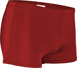 product image for NL-201-CB Women's Form Fit Compression Boys Cut Short with Elastic Waistband (X-Large, Red)