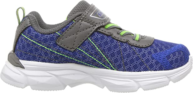 Skechers Kids Boys' Advance Hyper Tread Sneaker, BlueGray