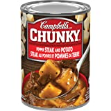 Campbell's Chunky Pepper Steak And Potato Soup, 540 mL