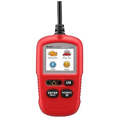 Autel Al329 Al329 AutoLink AL329(Upgraded AL319) Code Reader OBDII Scanner: Automotive