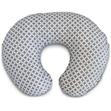 Boppy Nursing Pillow and Positioner, Gray/White