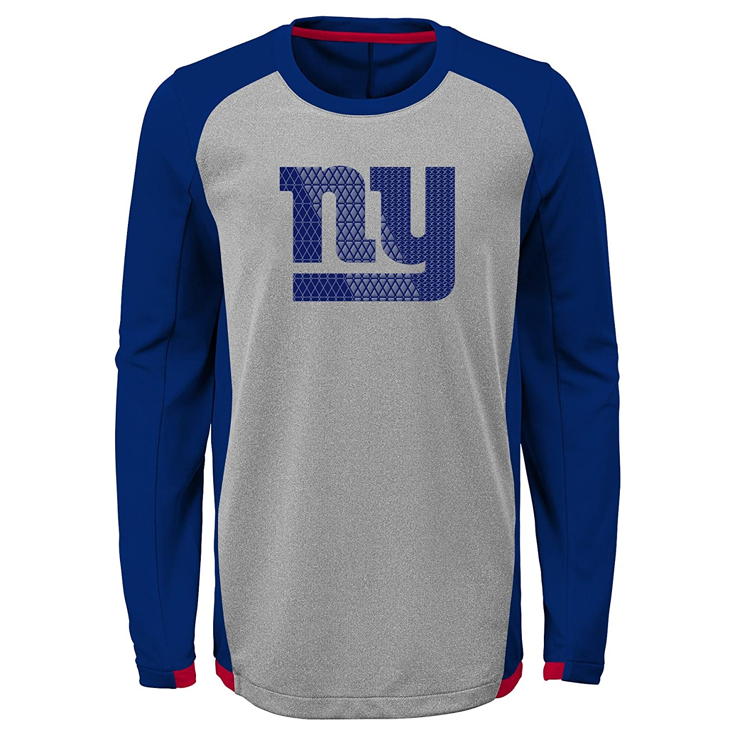 Outerstuff NFL New York Giants Kids /& Youth Boys Mainframe Performance Tee Dark Royal Youth Large 14-16