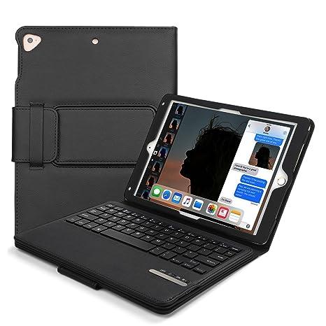 amazon com vivefox keyboard case 9 7 for ipad 2018 2017 ipad air 2