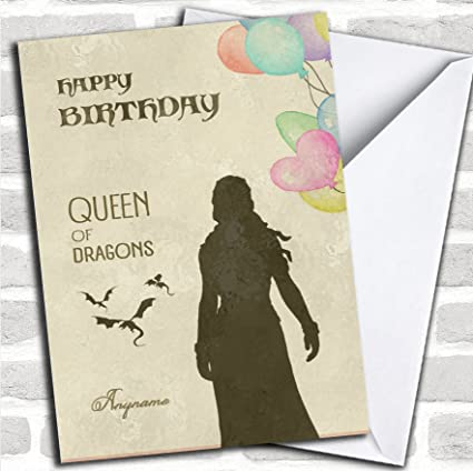 Amazon Got Funny Queen Game Of Thrones Birthday Personalized