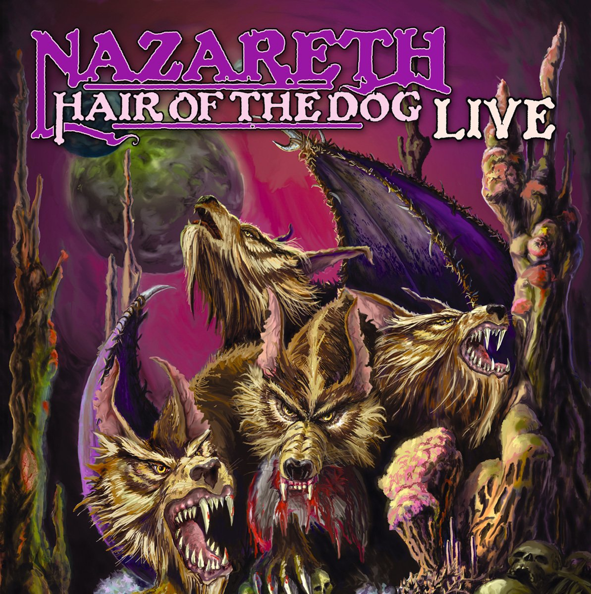 Hair of the Dog Live [Vinyl] by zyx/gcr