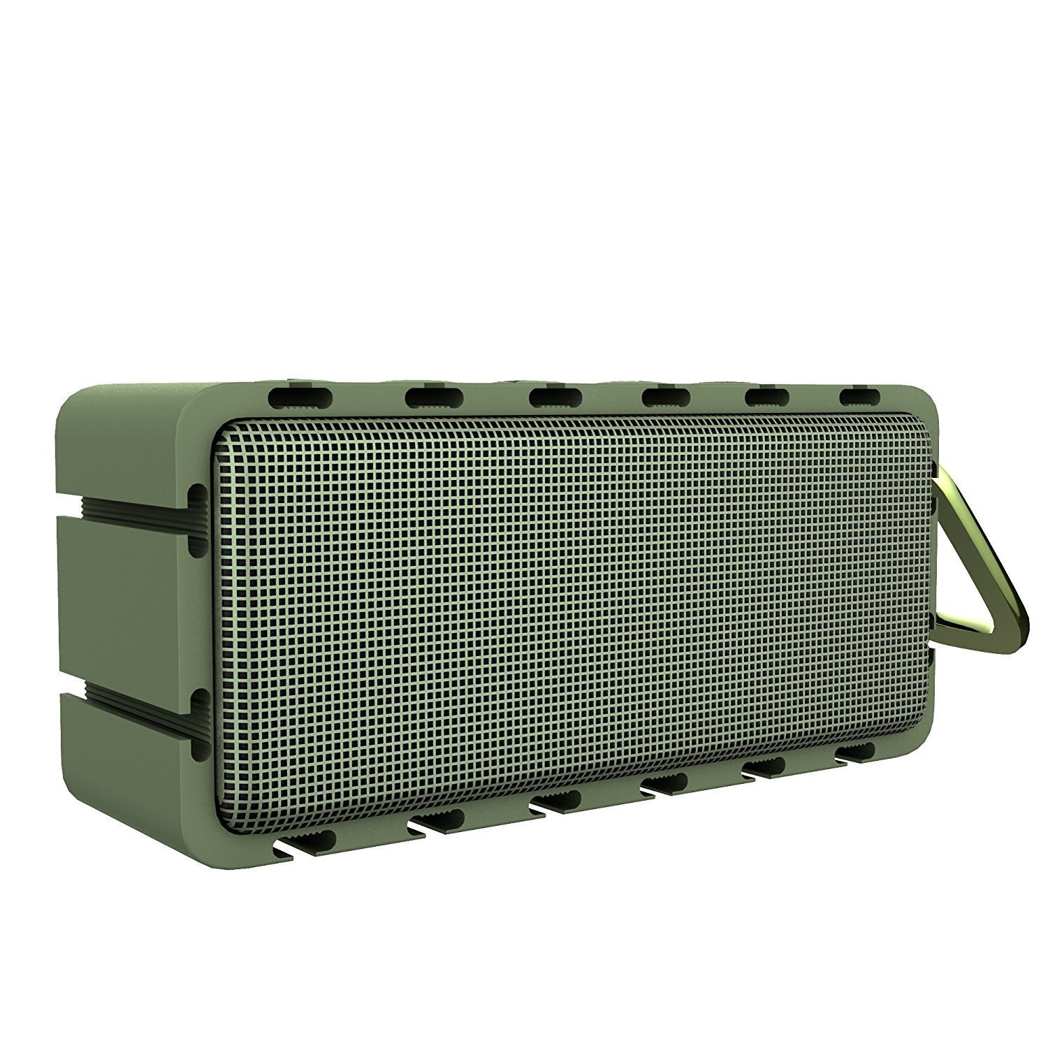 Remixcel Outdoor Speaker IPX6 Waterproof Stereo Sound Bluetooth Speakers Wireless Portable Speakers Green