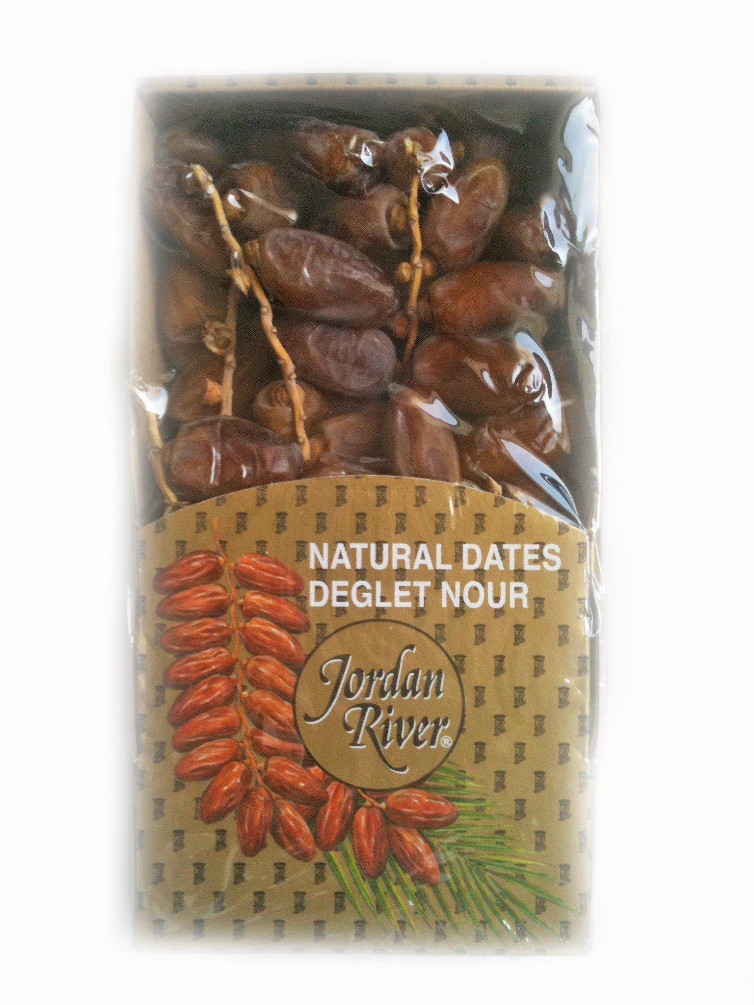 Deglet Nour Dates on Branches
