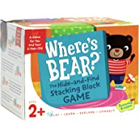 Peaceable Kingdom Wheres Bear? - The Hide-and-Find Stacking Block Game for 2-Year-Olds