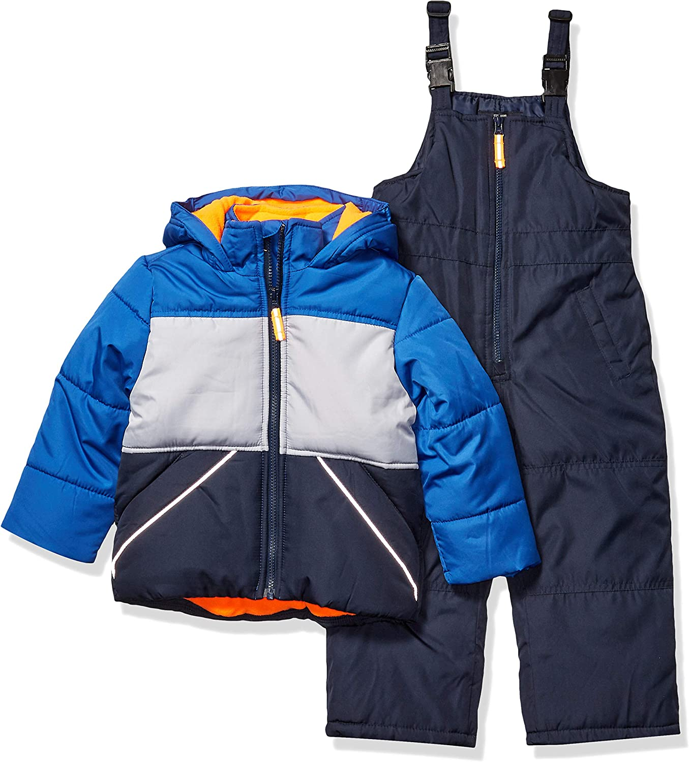 OshKosh BGosh Boys Ski Jacket and Snowbib Snowsuit Set