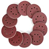 WORKPRO 150-piece Sandpaper Set - 5-Inch 8-Hole Sanding Discs 10 Grades Include 60, 80, 100, 120, 150,180, 240, 320, 400…