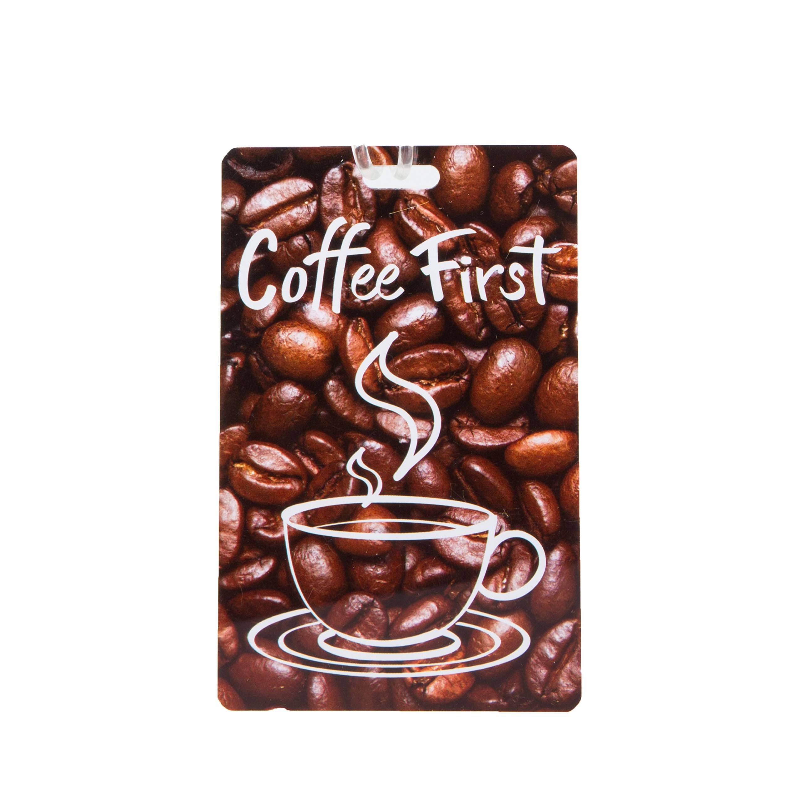 Travelon Personal Expression Luggage Tag,Coffee