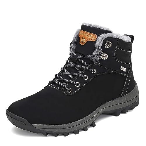 a84e596fb3 Pastaza Botas de Nieve Hombre Mujer Invierno Botines Outdoor Trekking  Zapatos Forro Piel Sneakers: Amazon.es: Zapatos y complementos