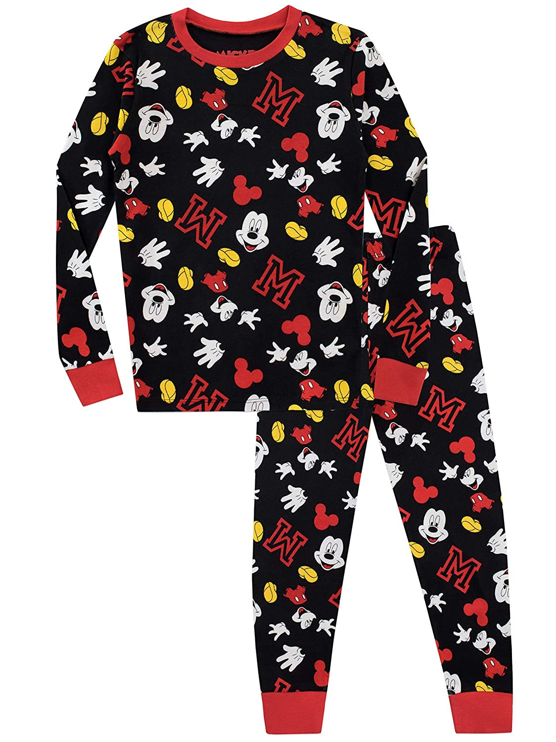 Disney Boys' Mickey Mouse Pajamas