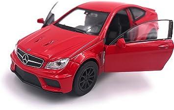 H Customs Mercedes C63 Black Series Modellauto Auto Lizenzprodukt 1 34 1 39 Rot Auto