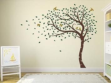 Designdivil Autocollant mural grande taille à motif d\'arbre avec ...