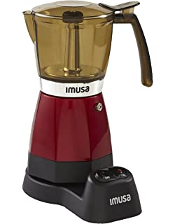 Amazon.com: EMK6 Alicia Electric Moka Espresso Coffee Maker ...