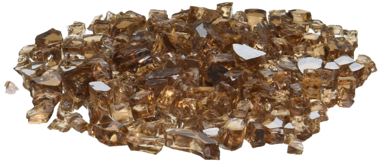 AZ Patio Firepit Reflective Glass, 20 lb, Copper by Hiland