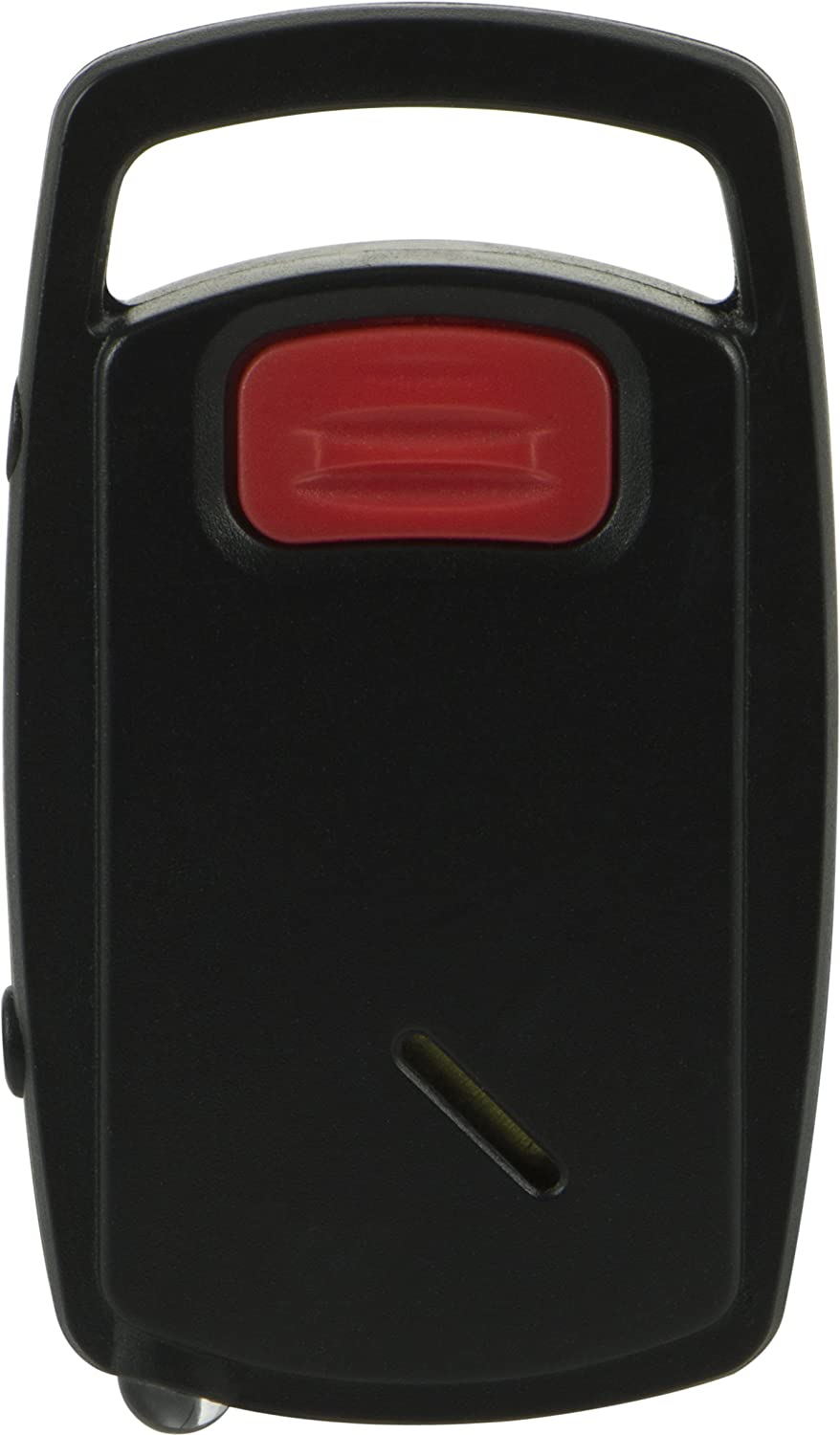 GE Push-Button Keychain Alarm, Built-In LED Light, Press Button to Activate, Portable Safety, Emergency, Self-Defense, Easy to Use, 45101