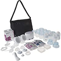 Philips Avent Double Electric Breast Pump with Breastfeeding Accessories, SCF334/26