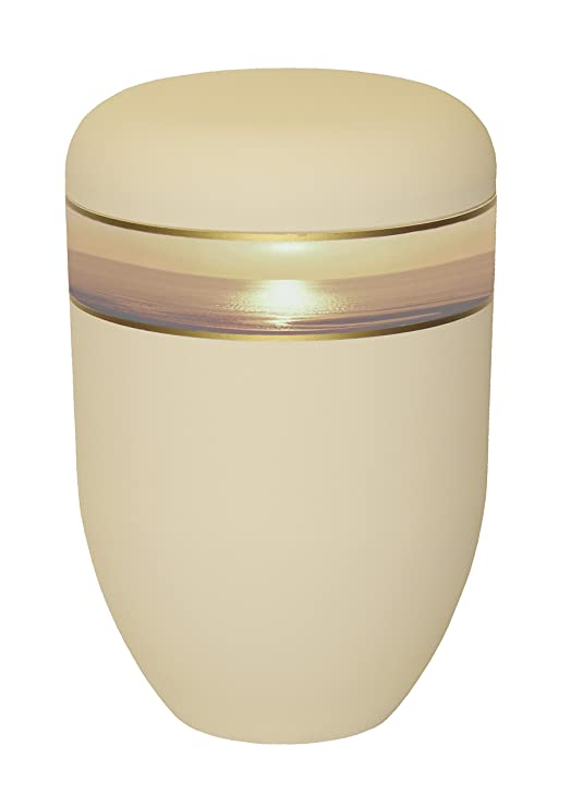 Urns UK Bio Sunset - Urna de cremación Biodegradable para Cenizas ...