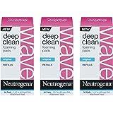 Neutrogena Wave Deep Clean Foaming Pads-30 ct (Pack of 3)