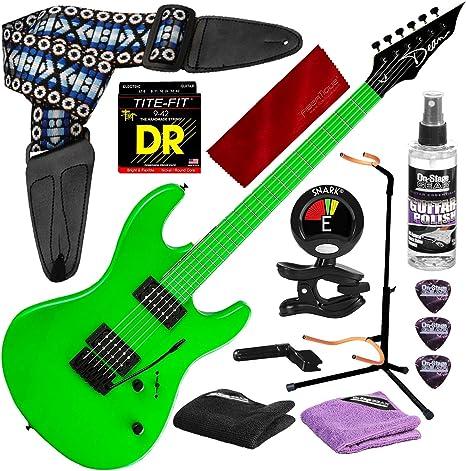 Dean Custom Zone 2 HB Guitarra eléctrica de cuerpo sólido, verde ...