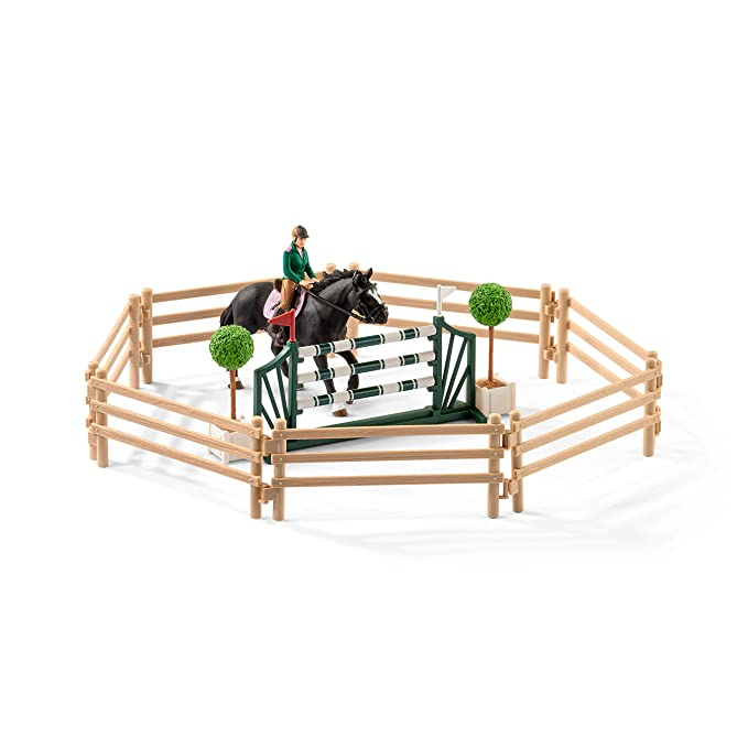 Schleich Reitschule Mit Reiterinnen Und Pferden 42389 Einfach Zu Verwenden Plüschtiere & -figuren Spielzeug