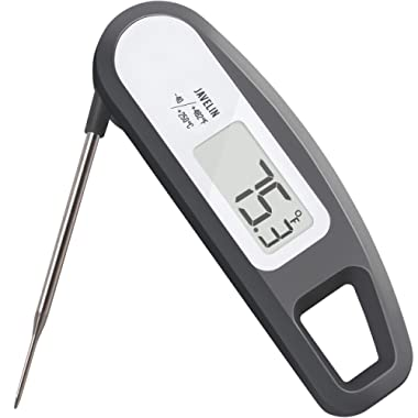 Lavatools PT12 Javelin Digital Ultra Fast Instant Read Meat Thermometer for Kitchen, Outdoor Grilling, BBQ, Brewing, and Frying (Sesame)