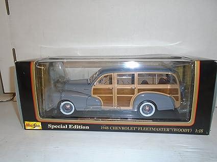 Amazon Com Maisto 1 18 Scale 1948 Chevrolet Fleetmaster