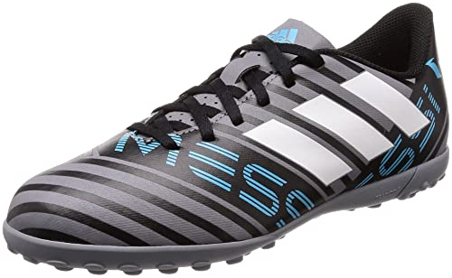 presupuesto Raramente Conductividad  Adidas Boy's Nemeziz Messi Tango 17.4 Tf J Grey Sports Shoes-4 UK/India  (36.67 EU) (CP9218): Buy Online at Low Prices in India - Amazon.in