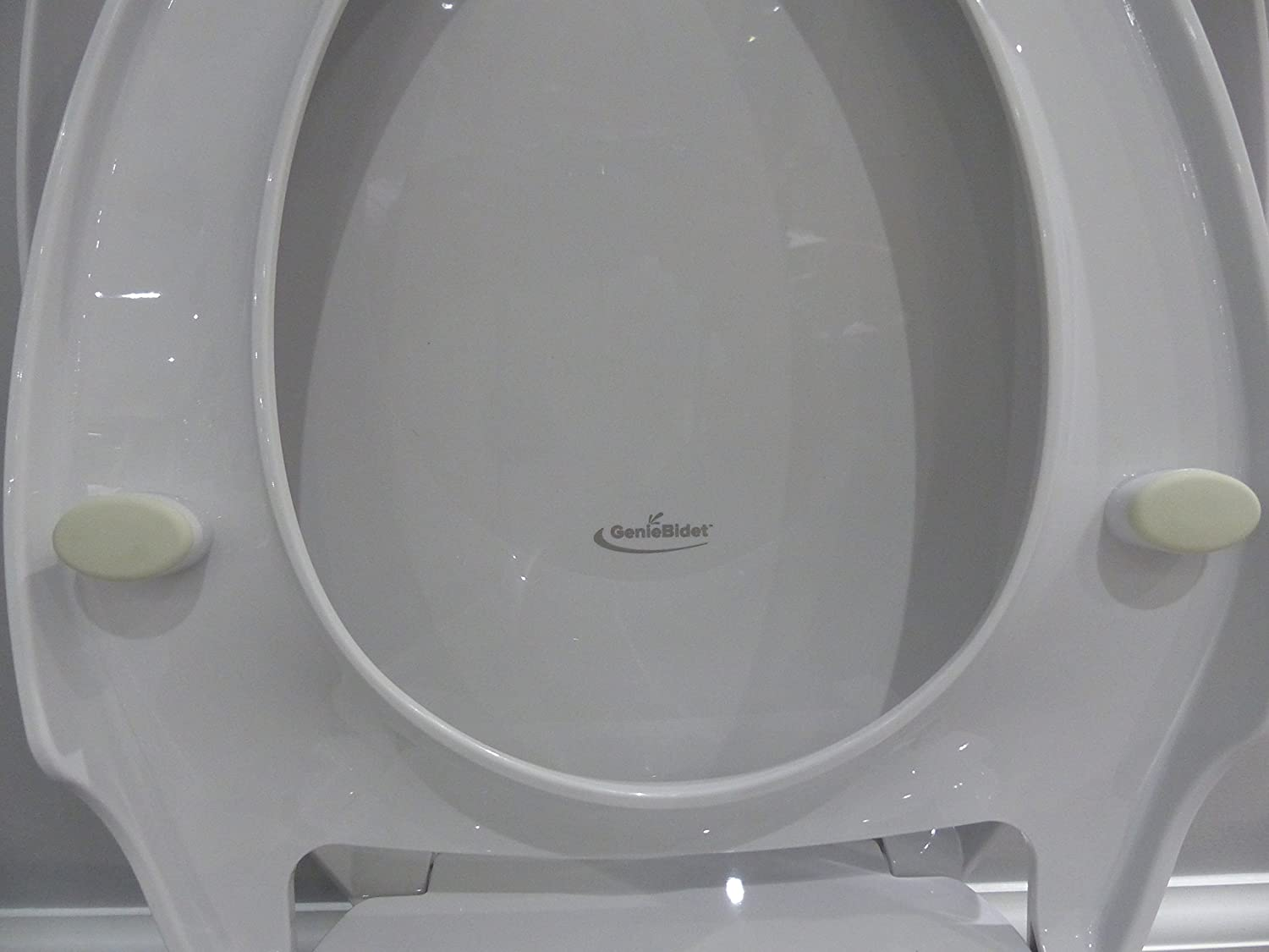 Marvelous Geniebidet Round Seat Self Cleaning Dual Nozzles Rear Feminine Cleaning No Wiring Required Simple 20 45 Minute Installation Or Less Hybrid T Evergreenethics Interior Chair Design Evergreenethicsorg