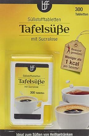 2 x borchers Sucralose Süßungstabletten | Im Spender | Tafelsüße | Für Kaffee, Tee und Heißgetränke | 2 x 300 Tabletten