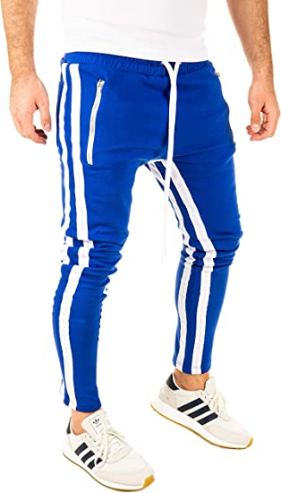 PITTMAN Pista Retro Pantalón De Deporte Hombre 2 Stripes ...