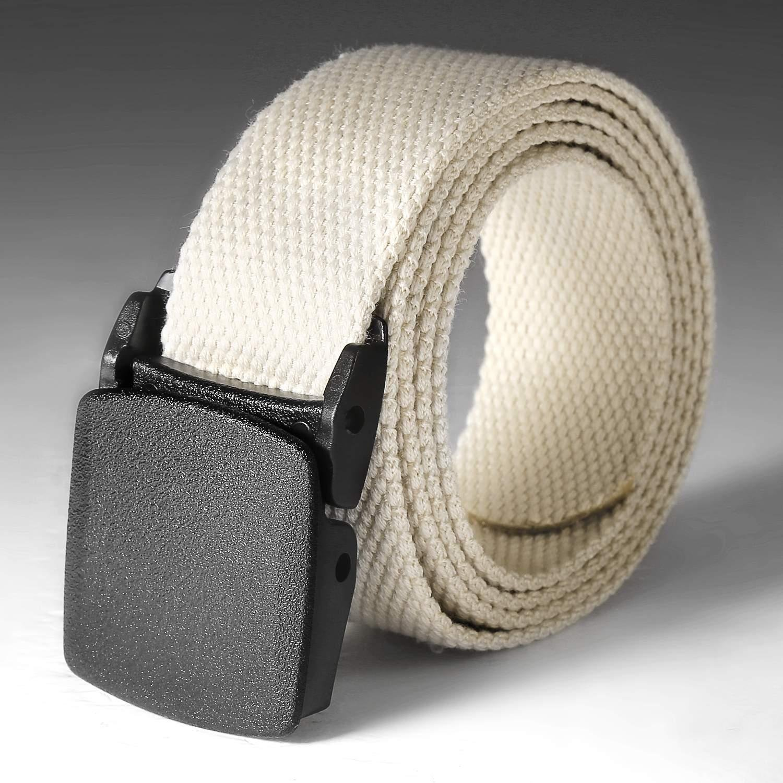 Rateim Tactical Adjustable Survival Solid Nylon Outdoor Waist Belt Belts
