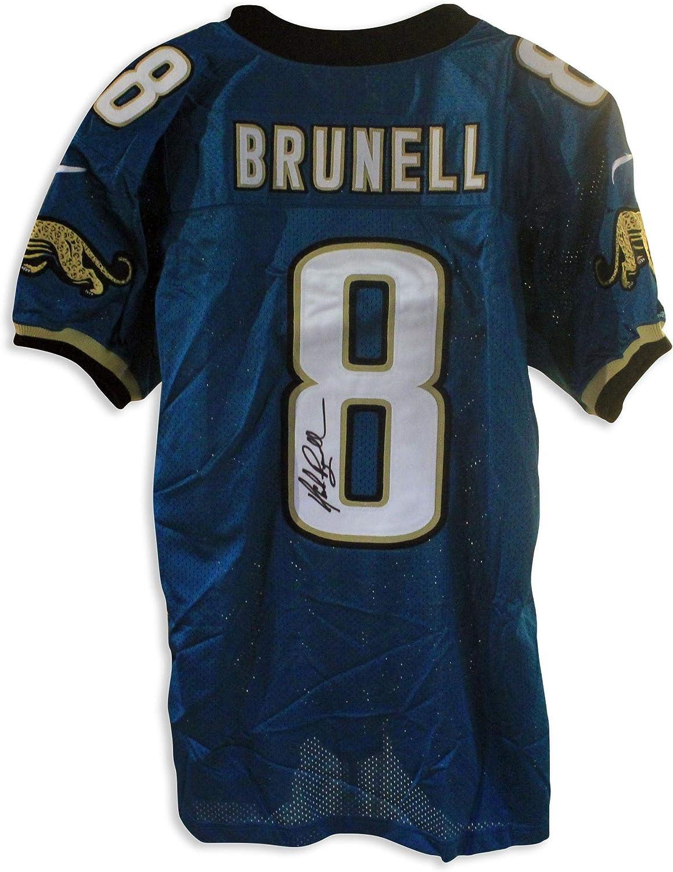 Mark Brunell Jacksonville Jaguars Autographed Authentic Nike ...