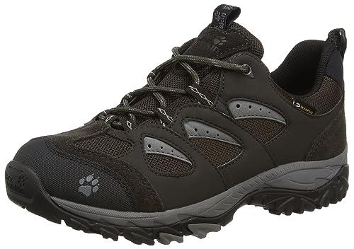 3ea6dd637f Jack Wolfskin MTN STORM TEXAPORE LOW W, Women's Hiking Shoes, Gray - Grau (