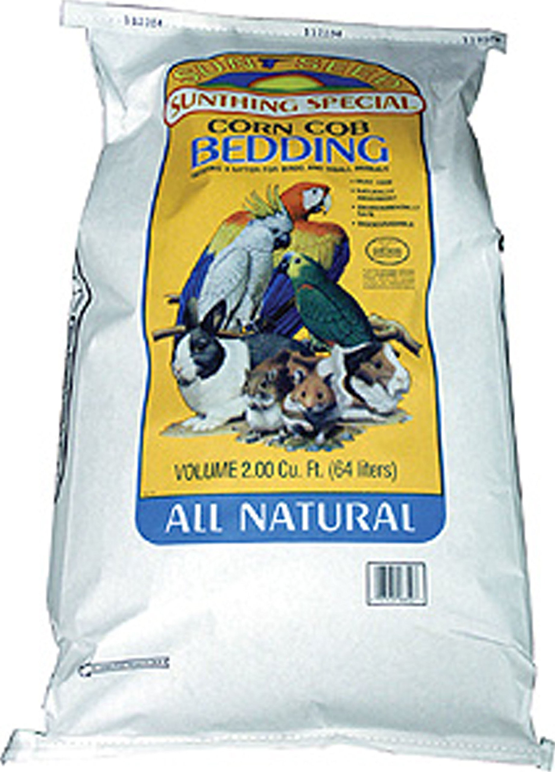 Corn Cob Bedding by Sunseed Company