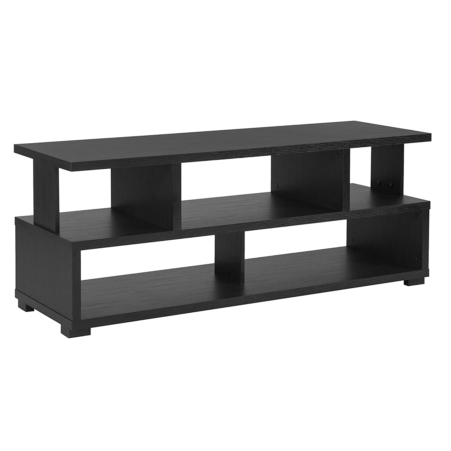 Amazon com flash furniture morristown collection 47 25w tv stand in espresso wood finish kitchen dining