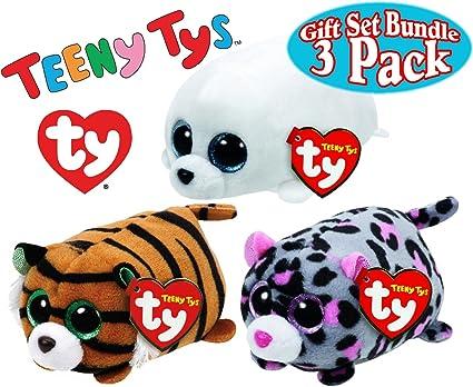 Teeny 4 inch Beanies Stuffed Animal Ty Tiggy Tiger 42137