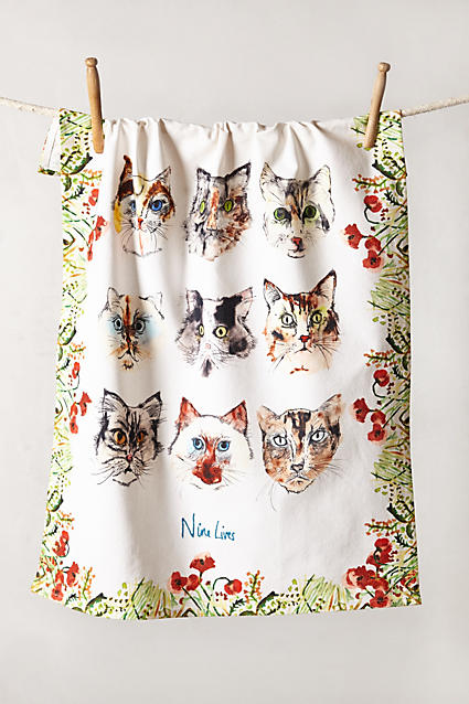 Loved & Loyal Dishtowel - anthropologie.c​om