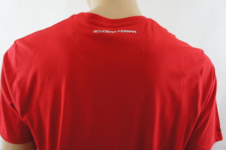 Ferrari - Polo - Básico - para Hombre Rojo Rojo: Amazon.es: Ropa y ...