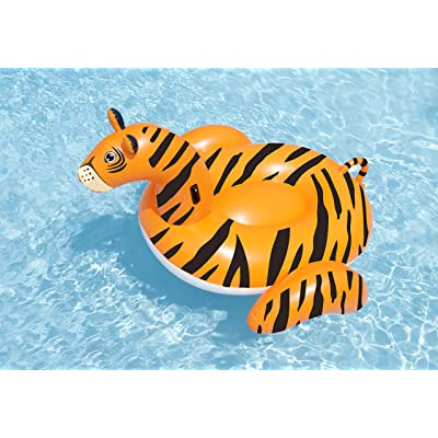 Swimline Giant Tiger Pool Float: Toys & Games [5Bkhe0507168]