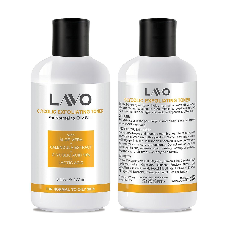 Amazon.com: LAVO Tóner glicólico: Beauty