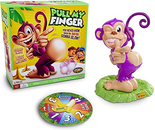 Jakks Pacific- Pull My Finger Monkey Game (78742): Amazon.es: Juguetes y juegos